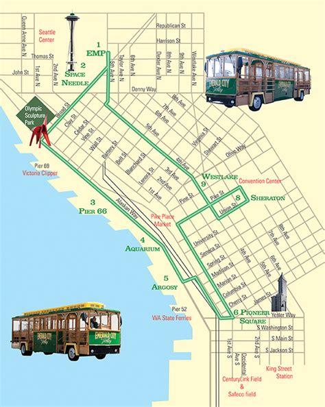 seattle underground map seattle emerald city trolley seattle royal jordanian