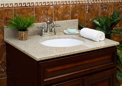 granite bathroom vanity top lesscare gt bathroom gt vanity tops gt granite tops gt wheat