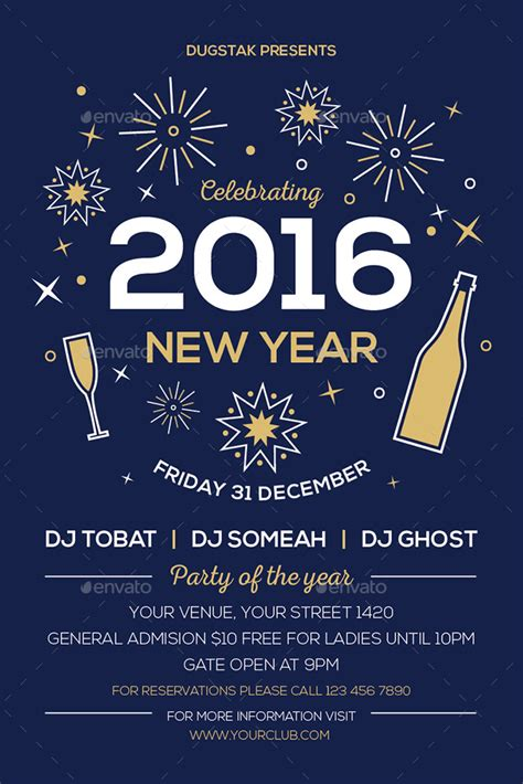 new year flyer new year flyer by oldandnew graphicriver