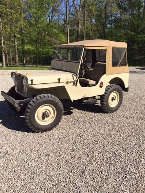 1947 jeep willys for sale 1947 willys jeep cj2a for sale
