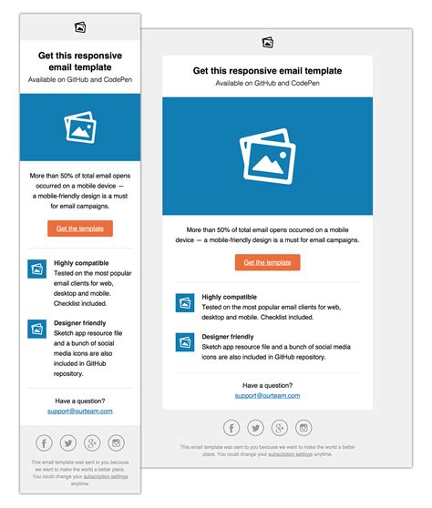 Email Templates By Konsav Simple Email Template Html Free