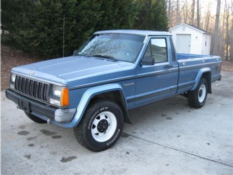 1989 Jeep Comanche Find Used 1989 Jeep Comanche Pioneer 4 Wheel Drive In