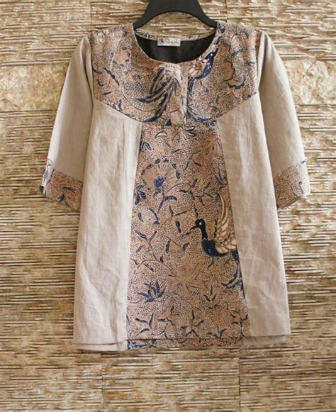 Busana Blouse Mix Tenun 14 best images about model batik on sheath