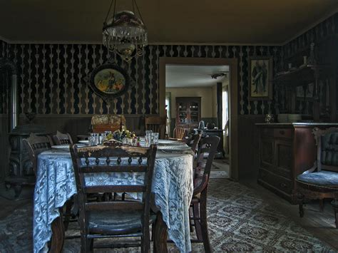 No Dining Room with Dining Room No 2 Montana Photograph By Daniel Hagerman
