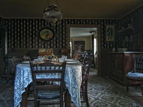 victorian dining room   montana photograph  daniel