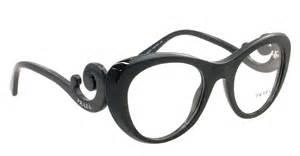 Details about new prada eyeglasses vpr 06q black 1ab 1o1 pr06qv cat