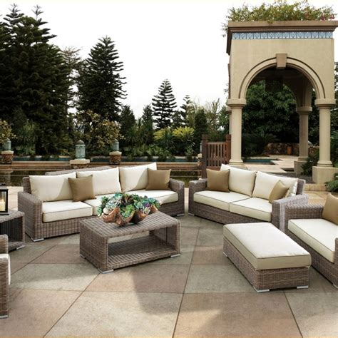 best outdoor sectional best outdoor patio furniture material best material for