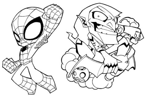 deadpool and spider man coloring pages sketch coloring page