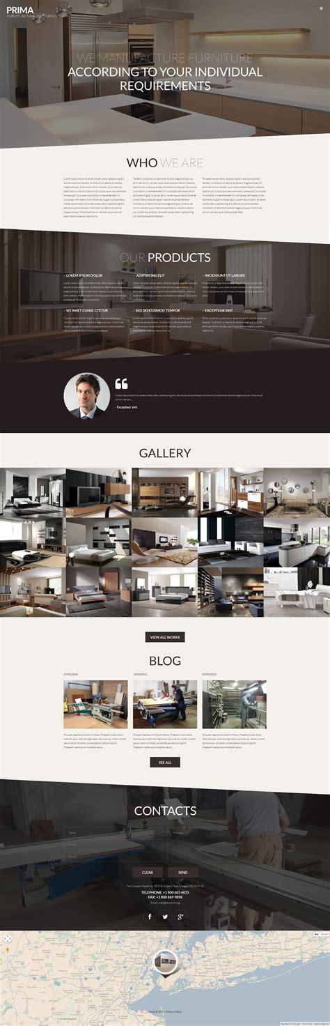 sito di arredamento tema 53145 per un sito di arredamento e design