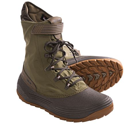 mens winter boots with removable liners teva chair 5 print snow boots waterproof insulated