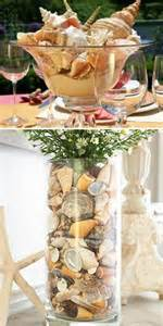 Seahorse Vase Seashell Centerpieces On Pinterest Shell Centerpieces