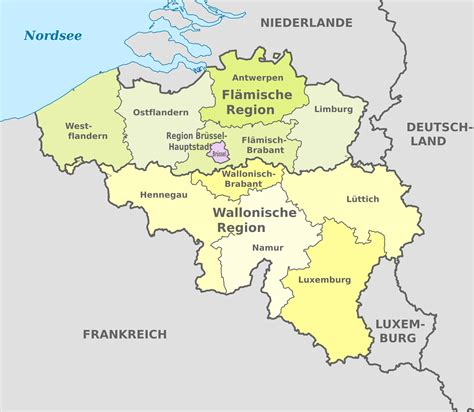 belgium map regions of belgium map frtka
