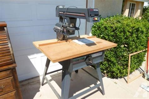 Radial Arm Saw Table by Used Craftsman 10 Quot Radial Arm Saw On Table Stand For Sale