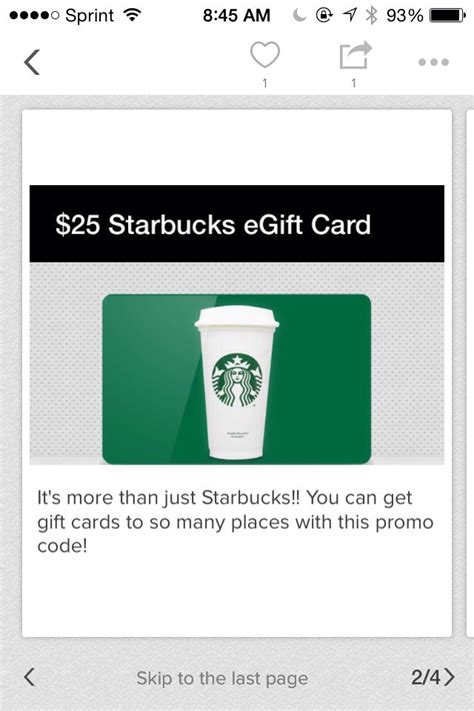 Free Starbucks Gift Card Code 2016 - earn free gift cards and products with club skinny from