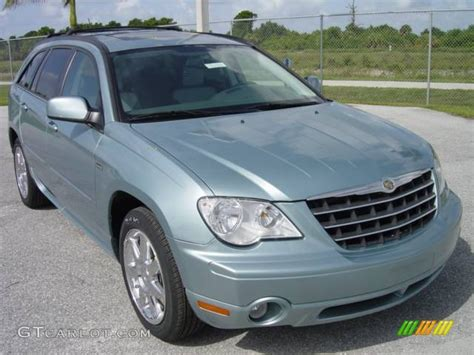 Blue Chrysler Pacifica by 2008 Clearwater Blue Pearlcoat Chrysler Pacifica Touring