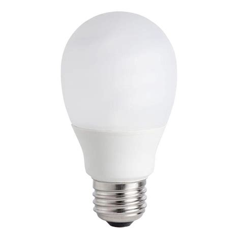 Lu Philips Spiral 5 Watt philips 40w equivalent soft white 2700k a19 a line