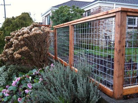wire garden fence design ideas garden