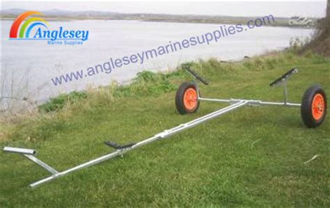 boat trolley plans dinghy launching trolleys boat parts boat trailer rollers