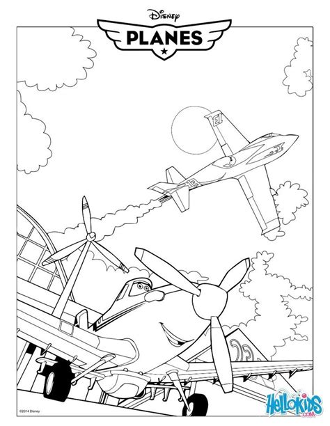 dusty crophopper planes movie coloring page printables