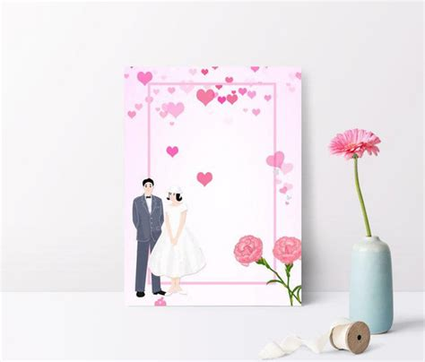 background bunga undangan pernikahan imej blog
