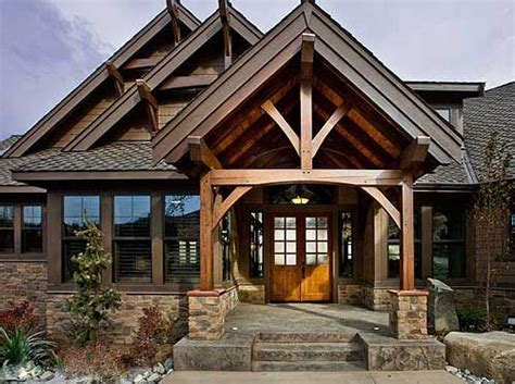 25 best ideas about mountain house plans on