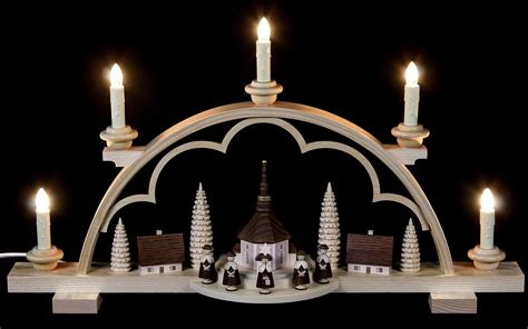 candle arch carolers village 57 cm 22in by m 252 ller