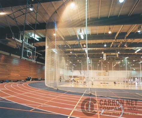 Barier The Football House by Carron Net Company Inc Fieldhouse Nets