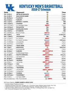 the kentucky basketball schedule is complete kentucky