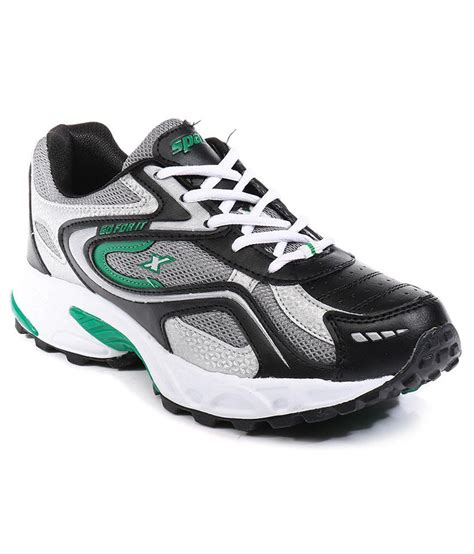 sparx black sports shoes price in india buy sparx black