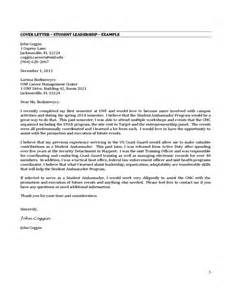 Exles Of Internship Cover Letters by Cover Letter Internship Exle Free