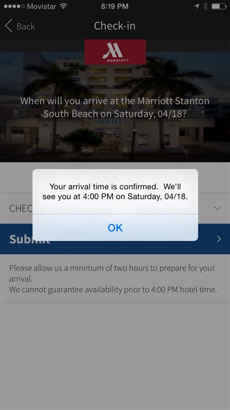 Marriott App Sweepstakes - a night in miami florida stop having a boring life