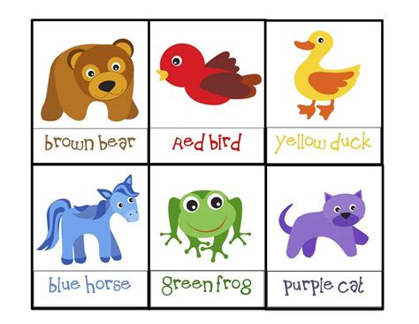 printable toddler books preschool printables brown bear bears pinterest