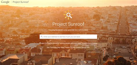google project sunroof project sunroof archives real estate things