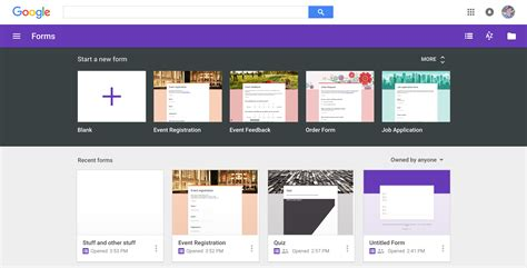 templates for google forms google forms guide everything you need to make great