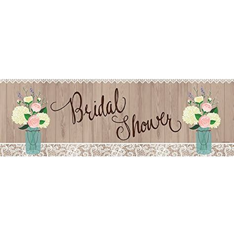 large wedding banner creative converting large bridal shower banner