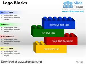 Lego Powerpoint Template lego blocks and pieces stacked on top of one another