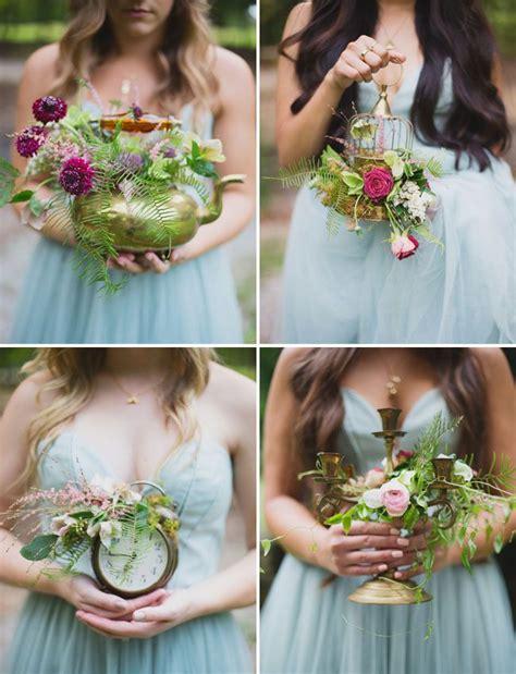 Wedding Bouquet Alternatives by 10 Unique Creative Bridesmaid Bouquet Alternatives