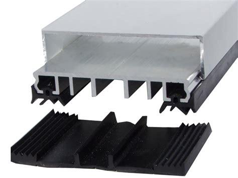 klemmprofile glasdach verlegeprofil einfach mit gummiauflage f 252 r vsg glas oder