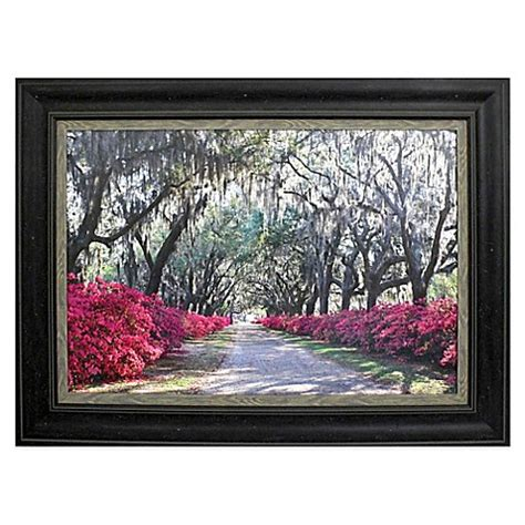 framed wall azaleas framed wall bed bath beyond