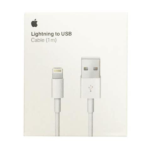 Original Kabel Data Lightning Usb Charger Ipod Iphone 5 5s 6 6s jual apple kabel data for iphone ipod putih original harga kualitas terjamin