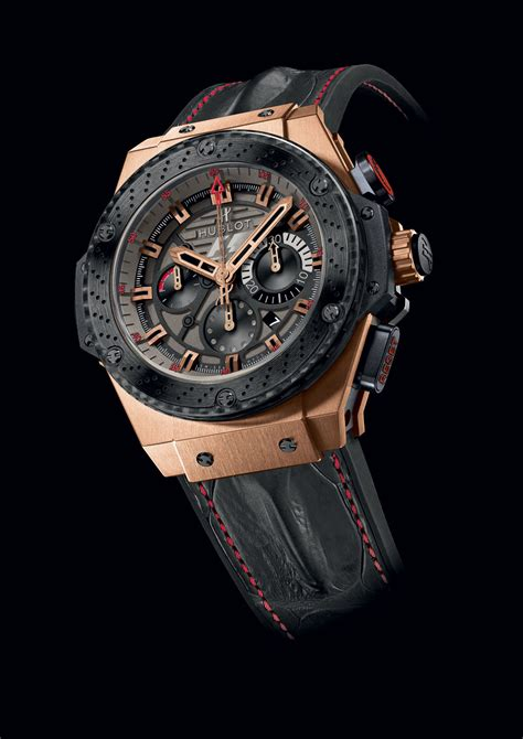Hublot King Bigbang Tourbillon Leather Automatic 2 hublot unveils the f1 king power great britain extravaganzi