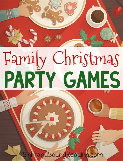 diy christmas party games for groups family festive and jolly for the entire family