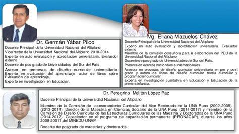 Diseño Curricular Por Competencias Universidad Dise 241 O Curricular Por Competencias En La Universidad