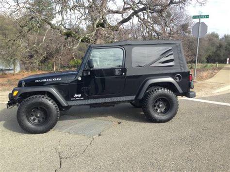 Jeep Rubicon For Sale In California 2005 Jeep Wrangler Rubicon For Sale In Auburn California