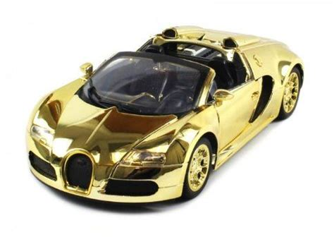 Mainan Remote Rc Yellow Roadster Car diecast bugatti veyron roadster electric rc car 1 18 metal