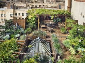 Amazing Eastern Style Rooftop Terrace Garden Of A New York Garden Design Nyc