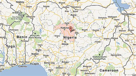 kaduna map 10 dead in nigeria mosque attack page 2 jamiiforums