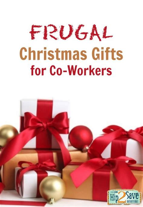 frugal christmas gift ideas needed for co workers