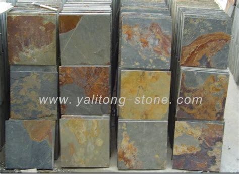 china slate slate tile multi color slate china slate