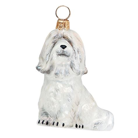 the joyous havanese to the world havanese ornament white bloomingdale s